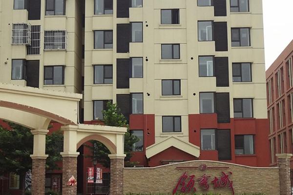 宝坻领秀城小区铝合金门窗